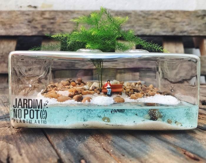 Artistas criam mundos minúsculos em recipientes de vidro (42 fotos) 7