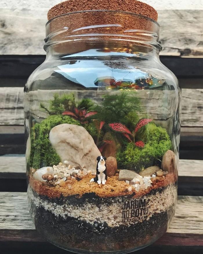 Artistas criam mundos minúsculos em recipientes de vidro (42 fotos) 8