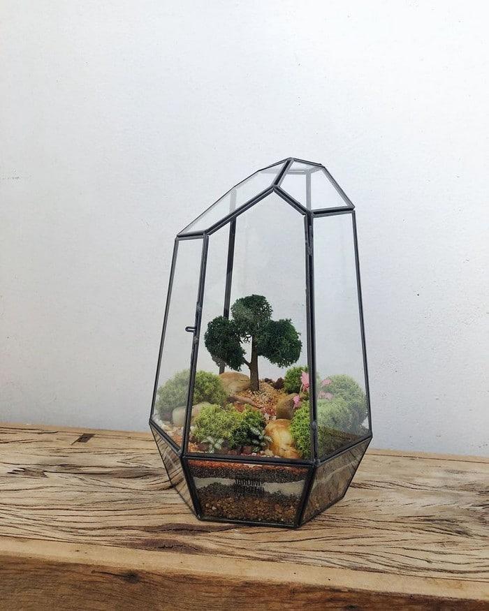 Artistas criam mundos minúsculos em recipientes de vidro (42 fotos) 13