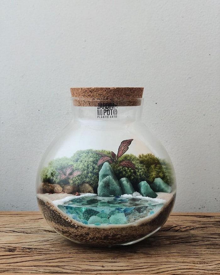 Artistas criam mundos minúsculos em recipientes de vidro (42 fotos) 14