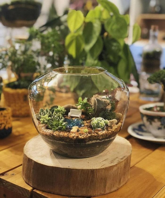 Artistas criam mundos minúsculos em recipientes de vidro (42 fotos) 18