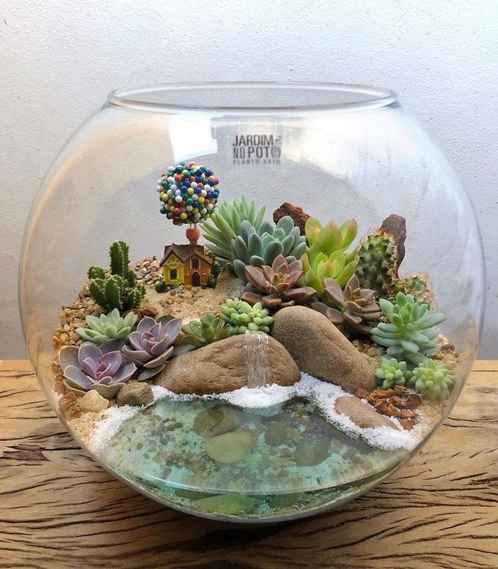 Artistas criam mundos minúsculos em recipientes de vidro (42 fotos) 19