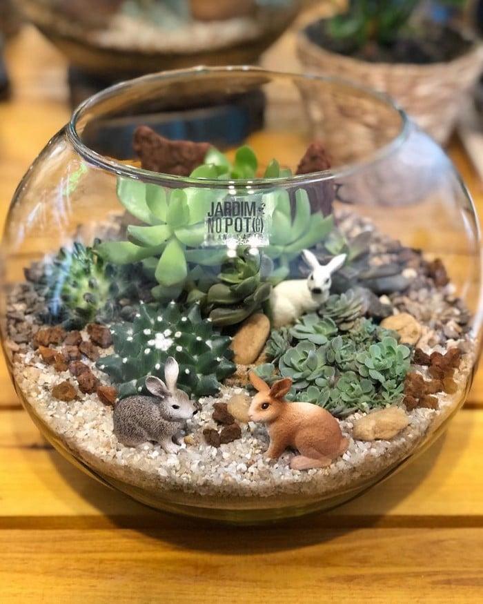 Artistas criam mundos minúsculos em recipientes de vidro (42 fotos) 20