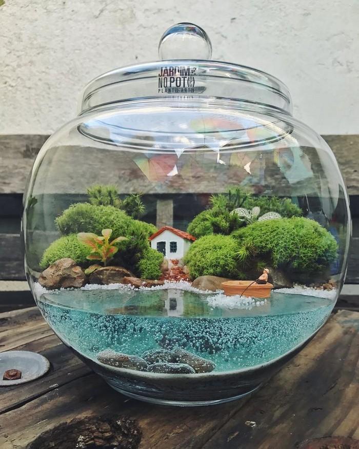 Artistas criam mundos minúsculos em recipientes de vidro (42 fotos) 22