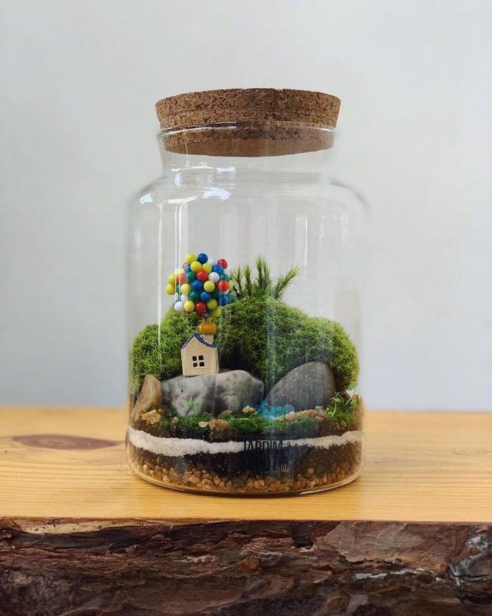 Artistas criam mundos minúsculos em recipientes de vidro (42 fotos) 24