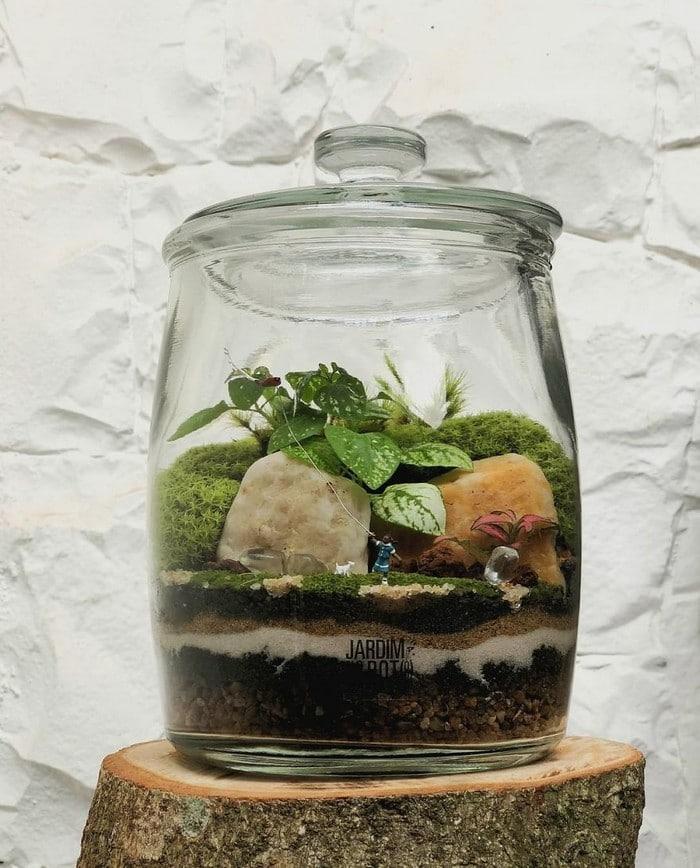 Artistas criam mundos minúsculos em recipientes de vidro (42 fotos) 27