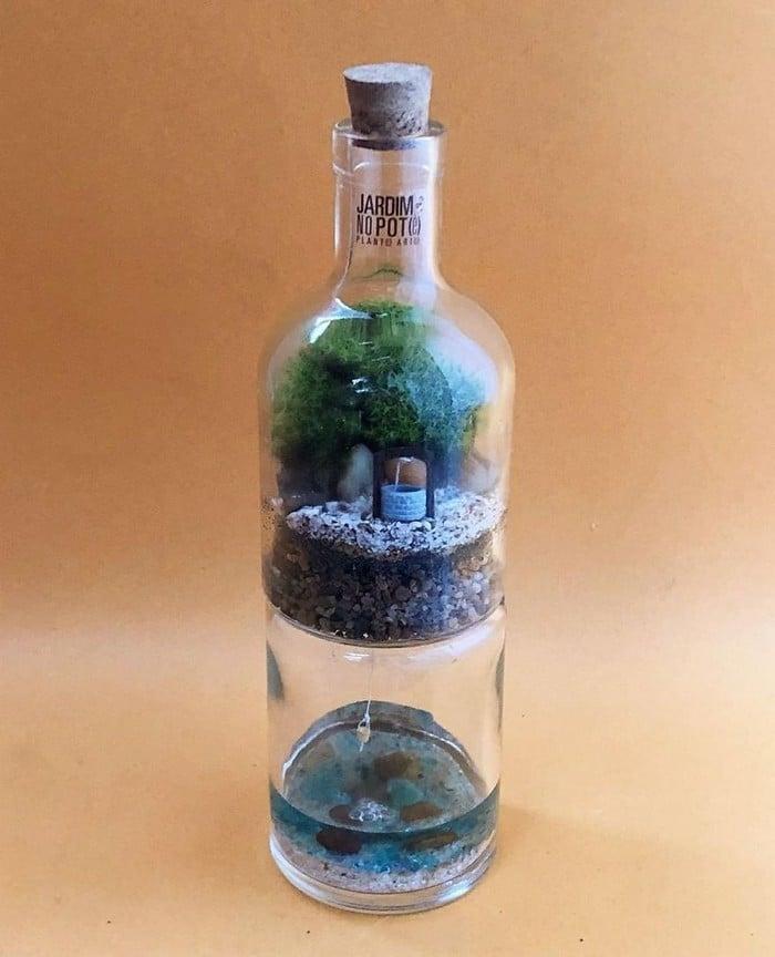 Artistas criam mundos minúsculos em recipientes de vidro (42 fotos) 28