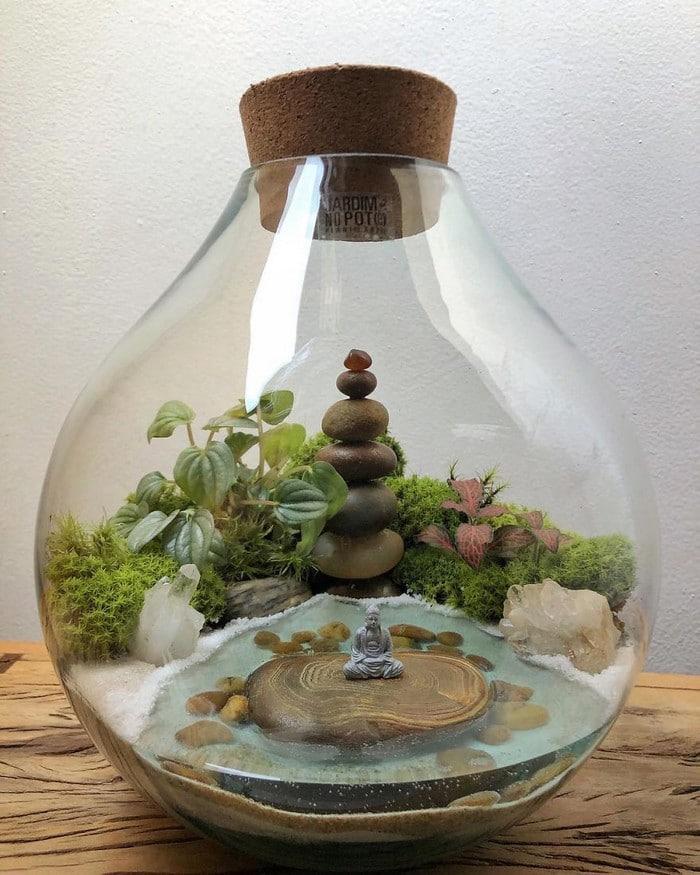 Artistas criam mundos minúsculos em recipientes de vidro (42 fotos) 30