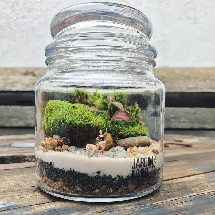 Artistas criam mundos minúsculos em recipientes de vidro (42 fotos) 31