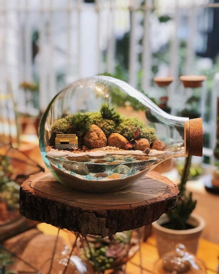 Artistas criam mundos minúsculos em recipientes de vidro (42 fotos) 35