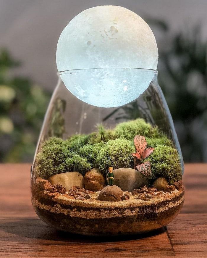 Artistas criam mundos minúsculos em recipientes de vidro (42 fotos) 41