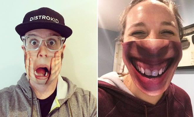As pessoas estão se protegendo com máscaras engraçadas ultra-realistas (21 fotos) 38