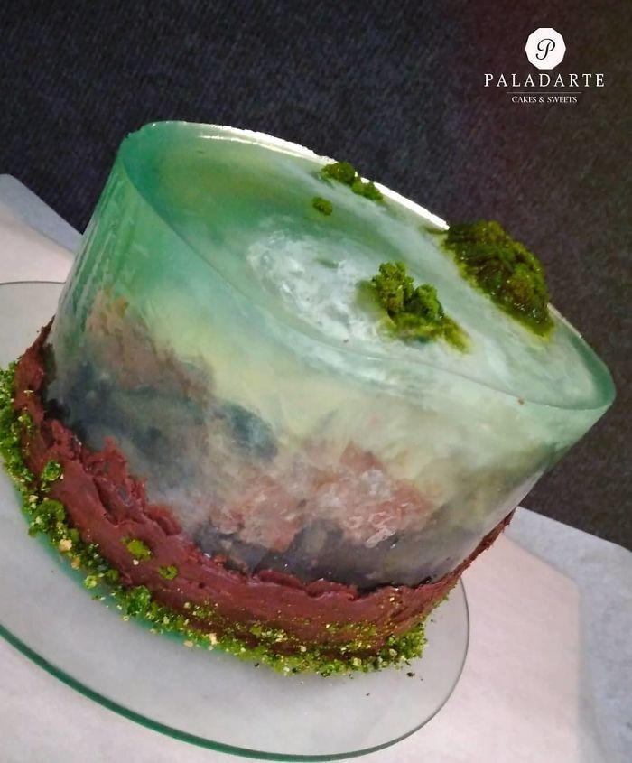 32 bolos que parecem ilhas paradisíacas 3