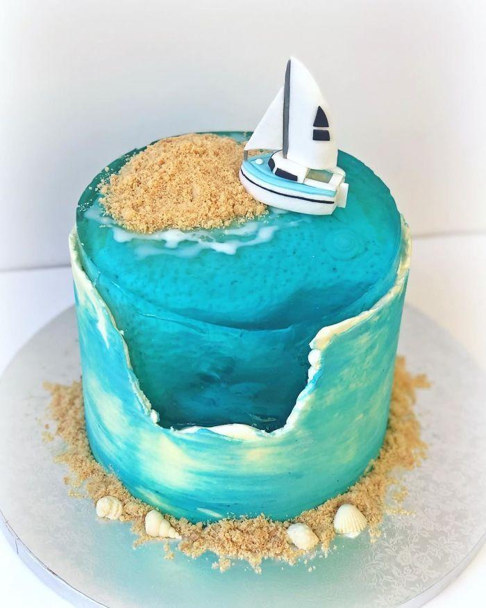 32 bolos que parecem ilhas paradisíacas 6