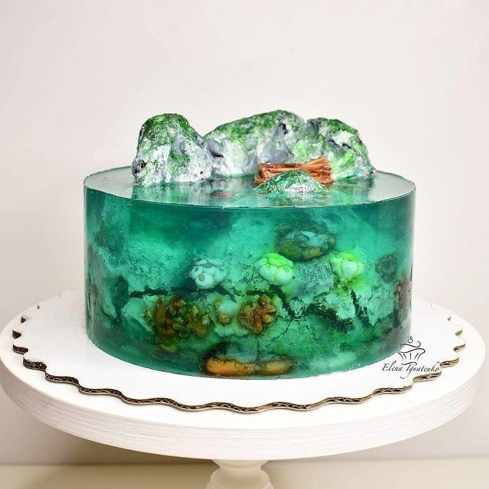 32 bolos que parecem ilhas paradisíacas 7