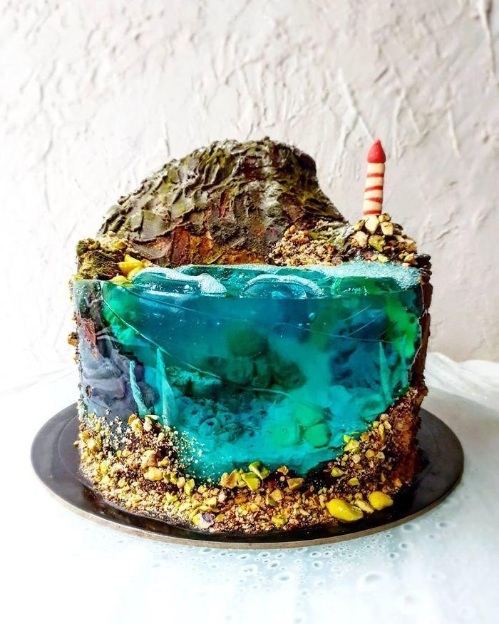 32 bolos que parecem ilhas paradisíacas 10