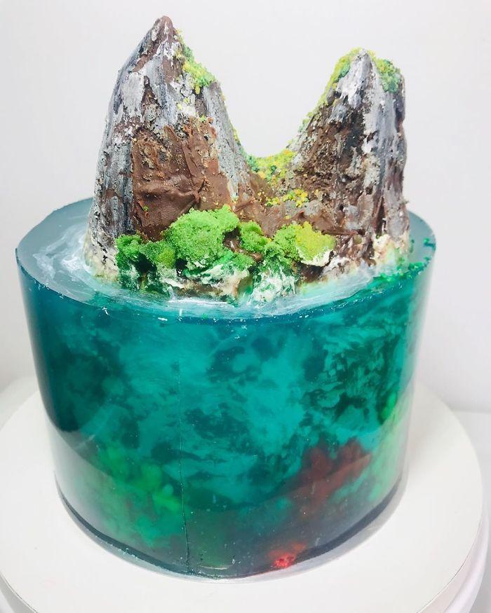 32 bolos que parecem ilhas paradisíacas 11