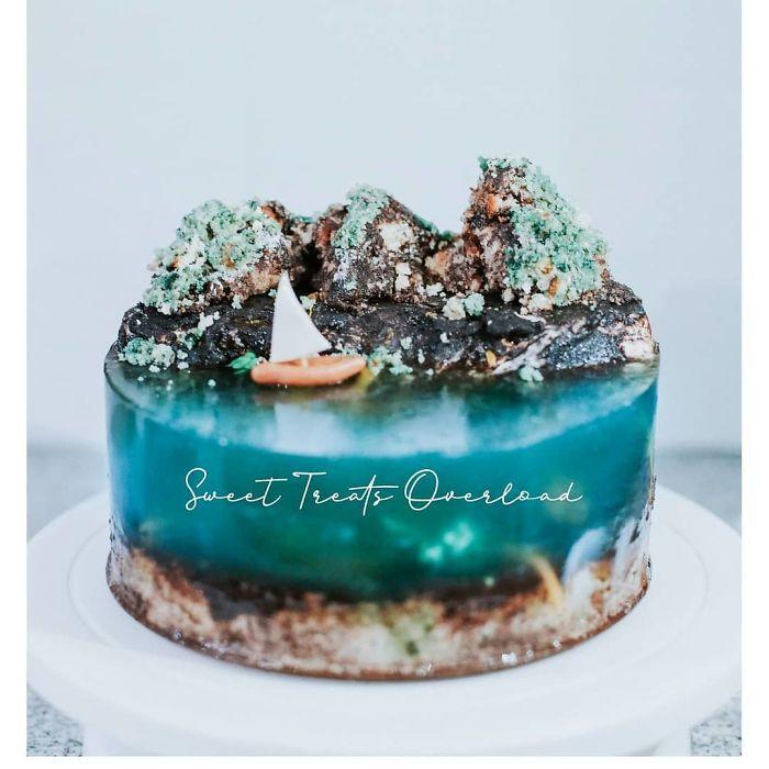 32 bolos que parecem ilhas paradisíacas 14