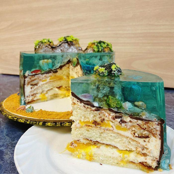 32 bolos que parecem ilhas paradisíacas 16