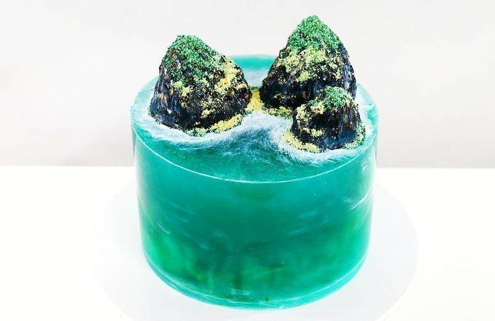 32 bolos que parecem ilhas paradisíacas 18