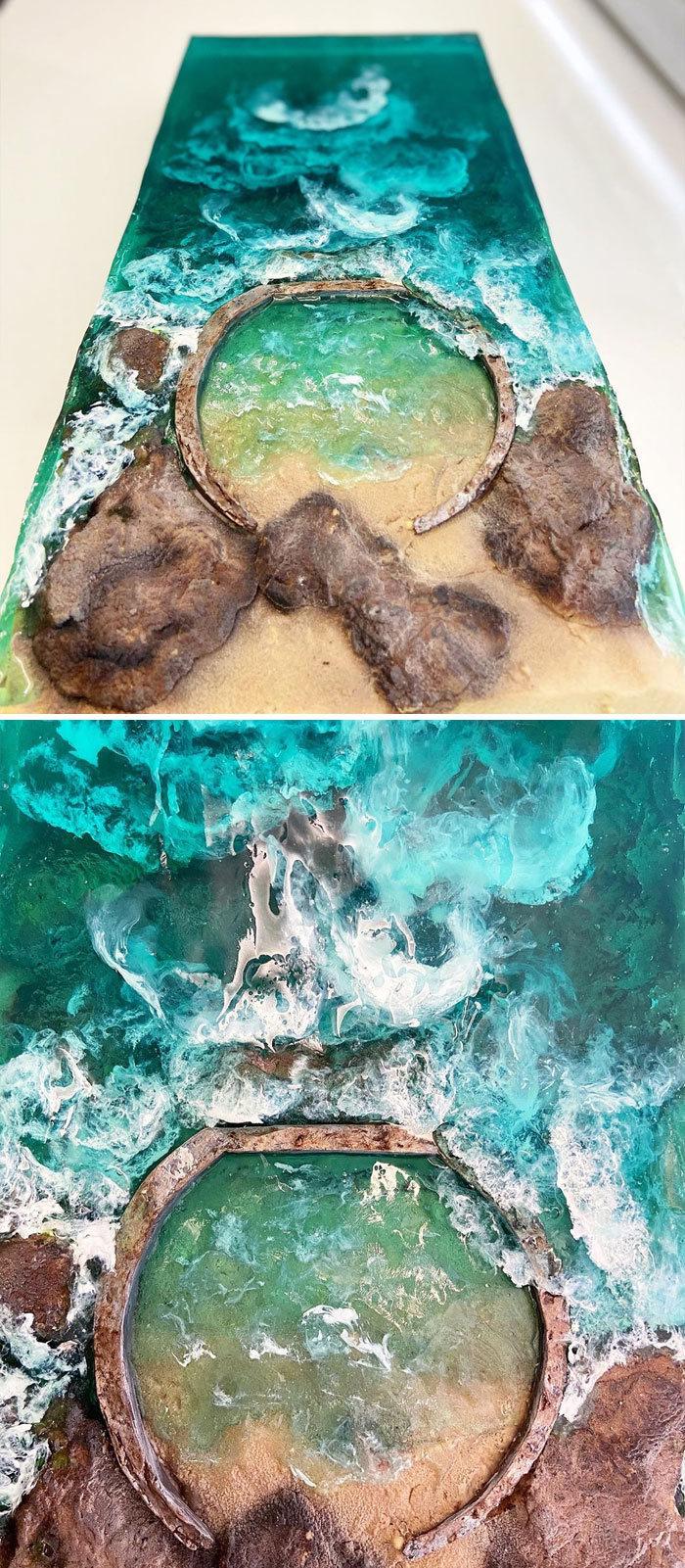 32 bolos que parecem ilhas paradisíacas 22