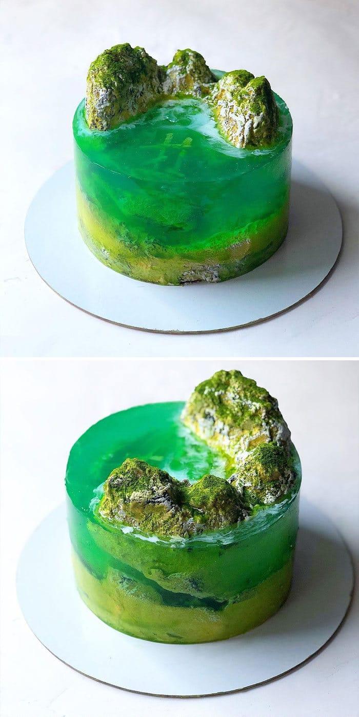 32 bolos que parecem ilhas paradisíacas 24