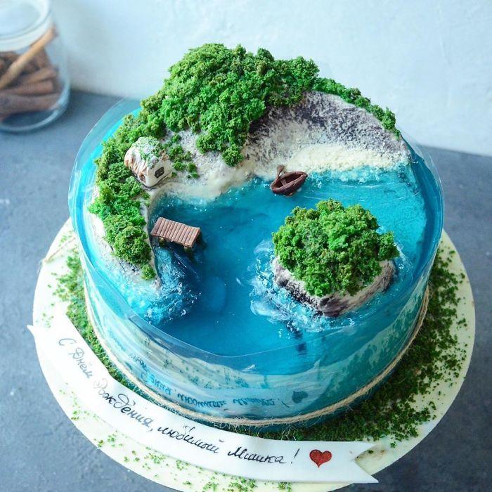 32 bolos que parecem ilhas paradisíacas 25