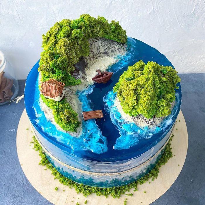 32 bolos que parecem ilhas paradisíacas 26