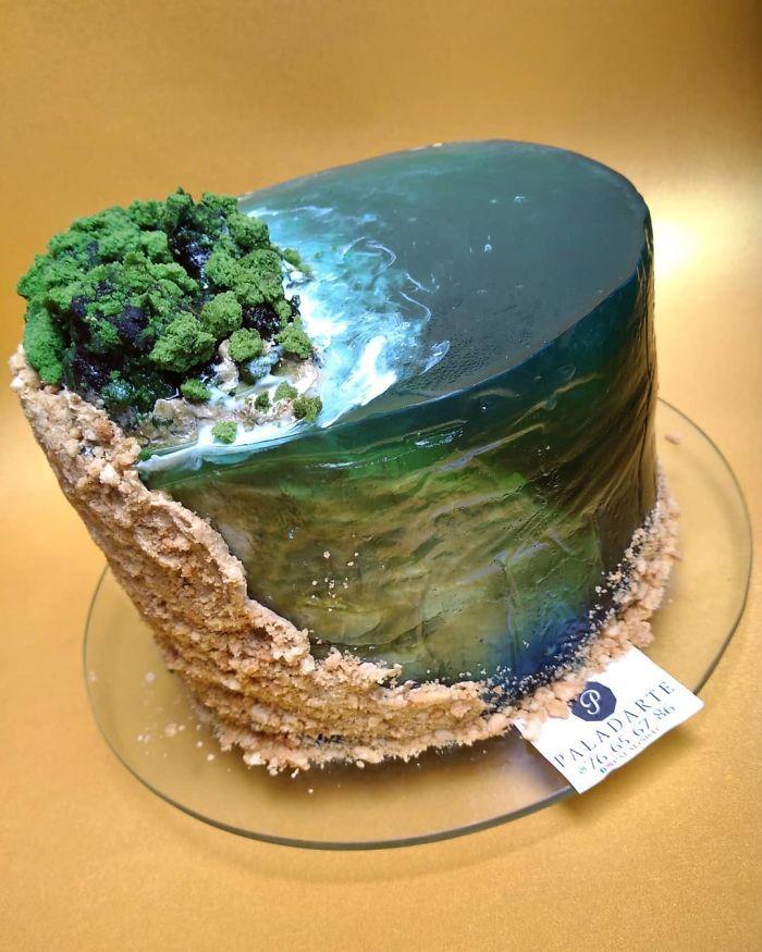 32 bolos que parecem ilhas paradisíacas 28