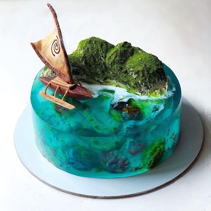 32 bolos que parecem ilhas paradisíacas 30