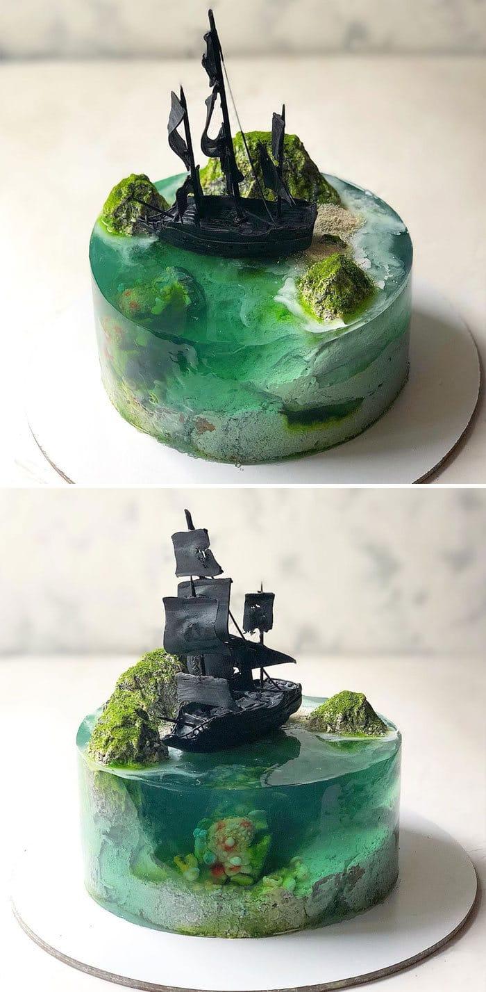 32 bolos que parecem ilhas paradisíacas 31