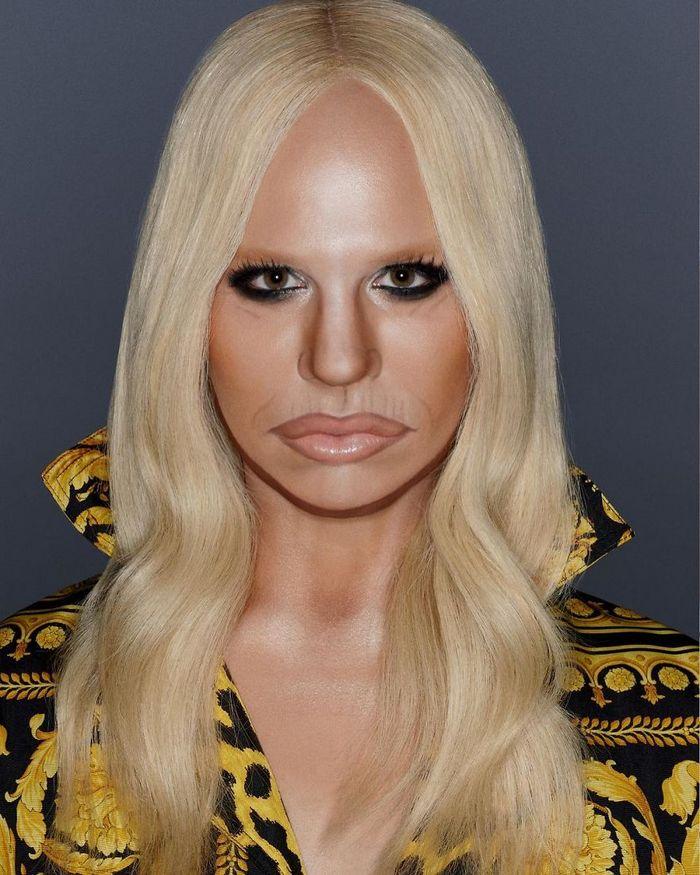 Drag Queen é tão boa em maquiagem que pode se transformar em qualquer celebridade (29 fotos) 11