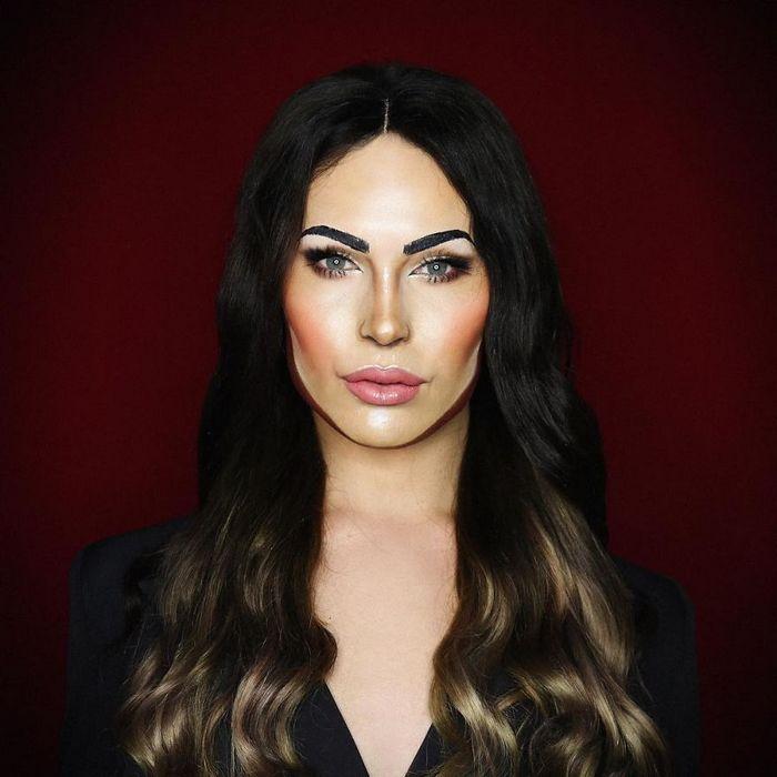 Drag Queen é tão boa em maquiagem que pode se transformar em qualquer celebridade (29 fotos) 12
