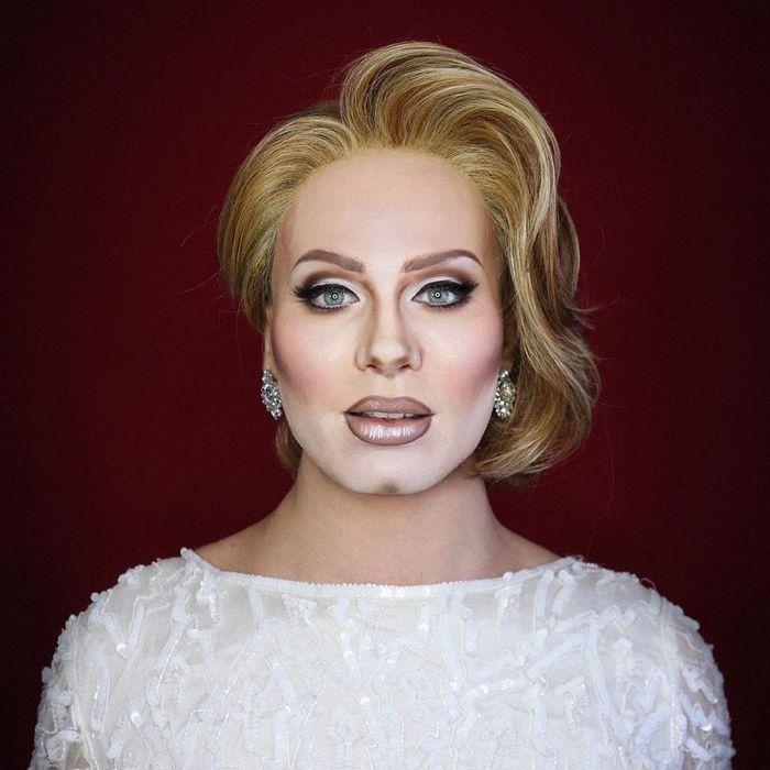 Drag Queen é tão boa em maquiagem que pode se transformar em qualquer celebridade (29 fotos) 14