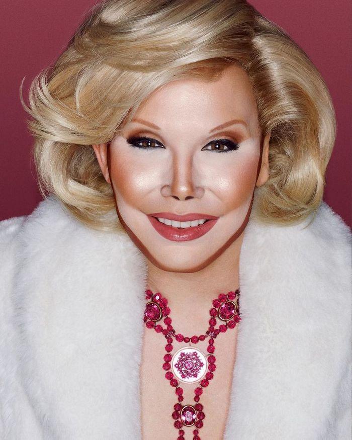 Drag Queen é tão boa em maquiagem que pode se transformar em qualquer celebridade (29 fotos) 22