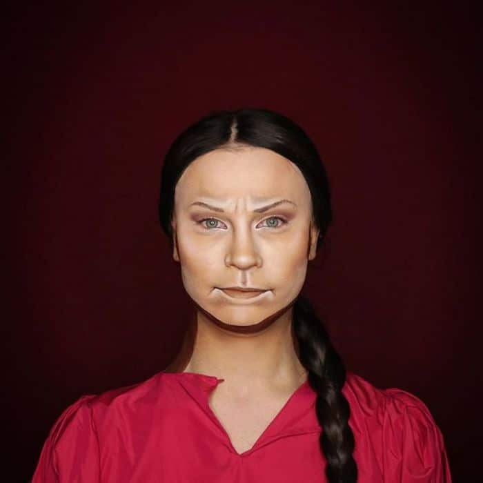 Drag Queen é tão boa em maquiagem que pode se transformar em qualquer celebridade (29 fotos) 25