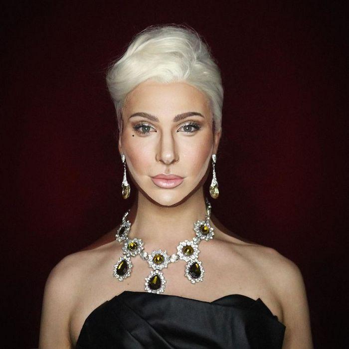 Drag Queen é tão boa em maquiagem que pode se transformar em qualquer celebridade (29 fotos) 26
