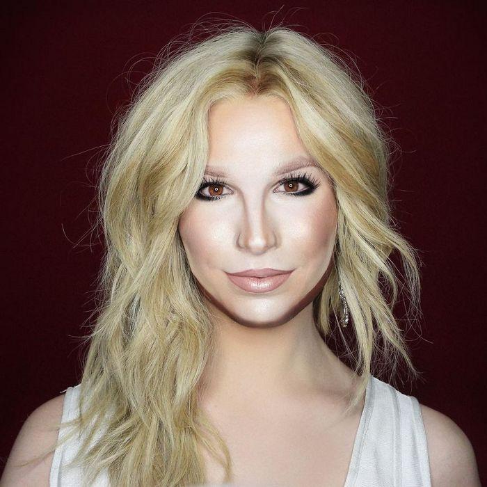Drag Queen é tão boa em maquiagem que pode se transformar em qualquer celebridade (29 fotos) 27