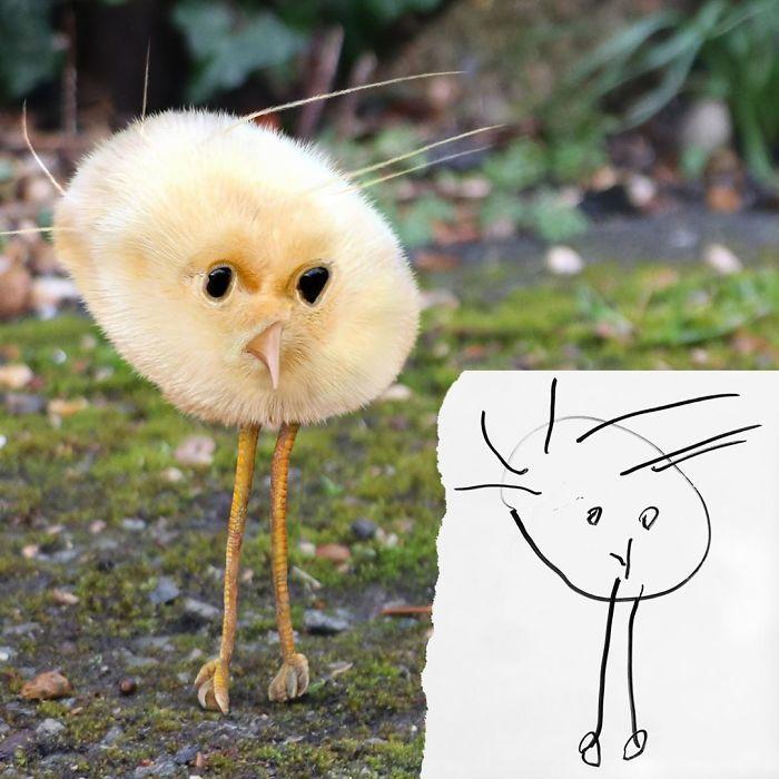E se os desenhos das crianças ganhassem vida (40 fotos) 6