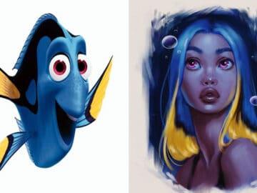 Esta artista transforma animais da Disney em seres humanos (5 fotos) 19