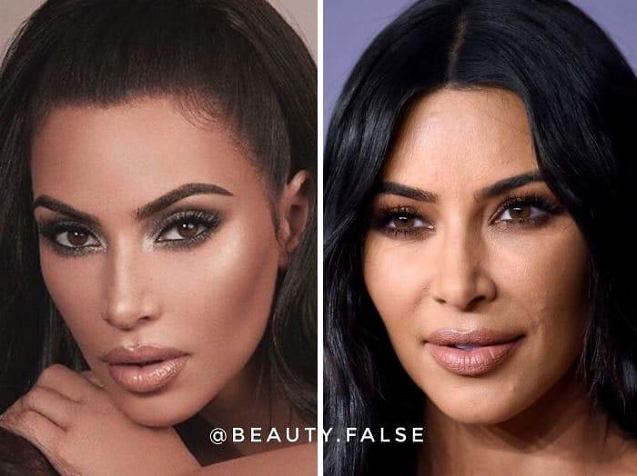 Esta conta do Instagram expõe influenciadores que mentem sobre sua verdadeira aparência (30 fotos) 14