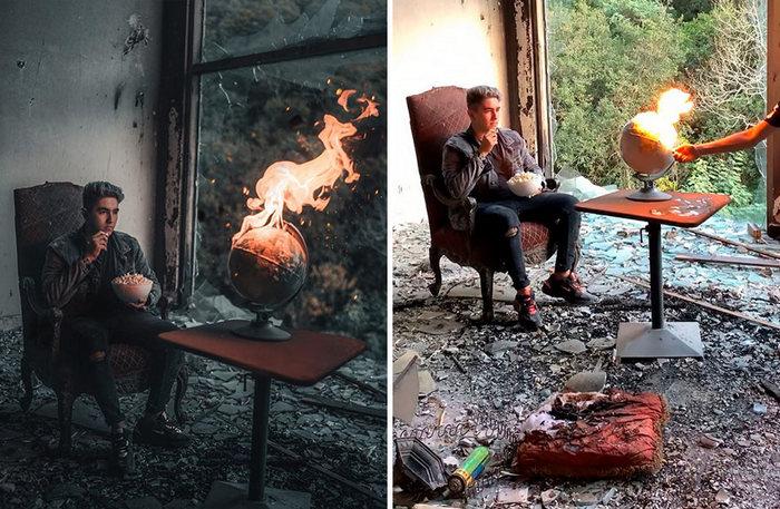 30 fotos de um fotógrafo mexicano que revelam a mágica por trás de imagens perfeitas 24