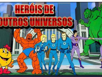 Hanna Barbera e os Heróis de Outros Universos! 4