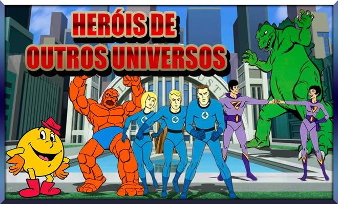 Hanna Barbera e os Heróis de Outros Universos! 1