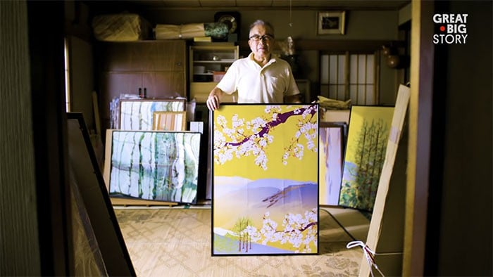 Homem de 80 anos domina Excel para criar pinturas incríveis (19 fotos) 2