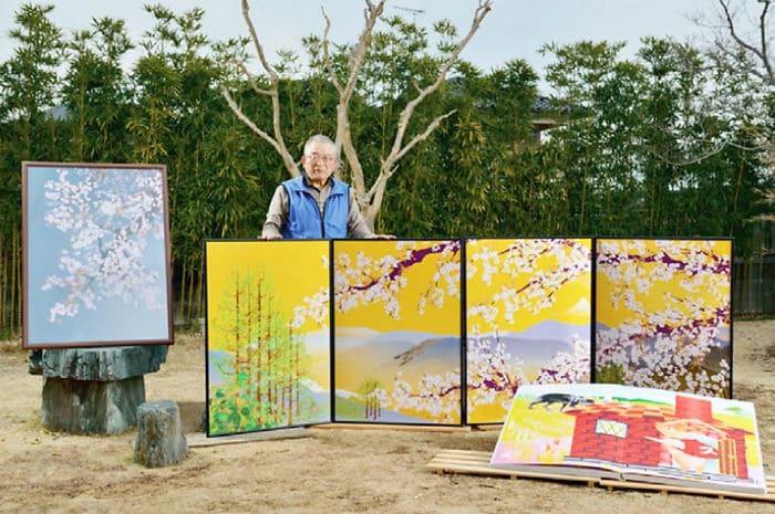 Homem de 80 anos domina Excel para criar pinturas incríveis (19 fotos) 9