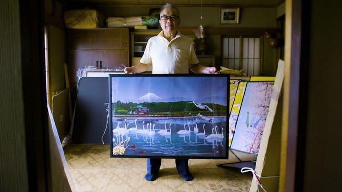 Homem de 80 anos domina Excel para criar pinturas incríveis (19 fotos) 10