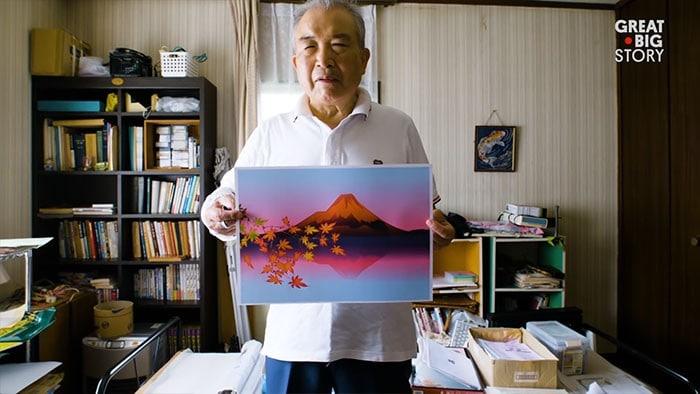 Homem de 80 anos domina Excel para criar pinturas incríveis (19 fotos) 14