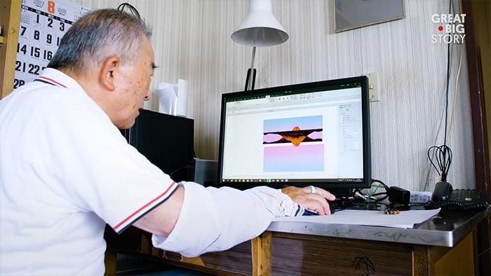 Homem de 80 anos domina Excel para criar pinturas incríveis (19 fotos) 20