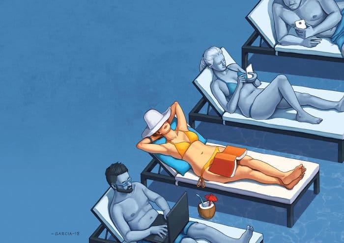 36 ilustrações que mostram o que há de errado com nossa sociedade 7